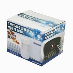 Motion Sensor Alarm Infrared Wireless Alert System Garage Fr
