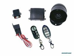 K9 MUNDIALSSX 1-Way Car Alarm Security System with 16 Progra