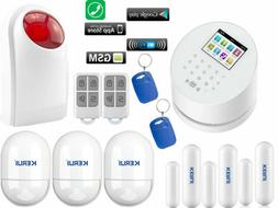 Q70 KERUI APP WiFi IP GSM PSTN RFID Access Wireless Home Sec