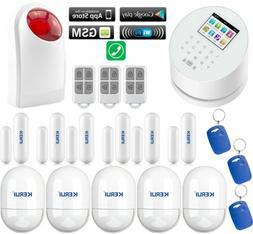 Q71 KERUI APP WiFi IP GSM PSTN RFID Wireless Home Office Sec