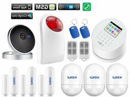 Q77 KERUI APP WiFi GSM PSTN RFID Wireless Home Security Alar
