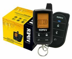 NEW VIPER 5305V 2 WAY LCD VEHICLE CAR ALARM KEYLESS ENTRY RE