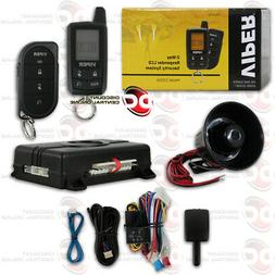 NEW VIPER CAR ALARM SECURITY SYSTEM KEYLESS ENTRY 3 CHANNEL