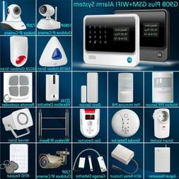 New G90B Plus WiFi GSM SMS Wireless Home Alarm Security Syst