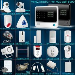Hot G90B Plus WiFi GSM SMS Wireless Home Alarm Security Syst