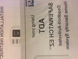 NEW Honeywell complete ADT SAFEWATCH EZ9 Control Kit. NOS Se