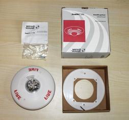 NIB System Sensor Fire Alarm Horn Strobe Spectralert Model P