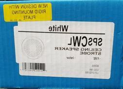*NIB* *New* System Sensor SPSCWL Fire Alarm Speaker/Strobe C