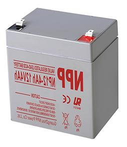 NPP NP12-4Ah Rechargeable Sealed Lead Acid 12V 4 Ah Battery