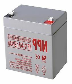 NPP 12V 4 Ah Rechargeable Lead Acid Battery For Home Alarm S