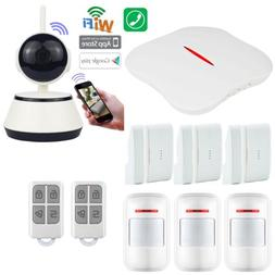 X87 KERUI APP WiFi PSTN Wireless Home Security Alarm Burglar