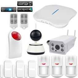 O40 KERUI APP WIFI PSTN W1 Wireless Home Security Alarm Burg