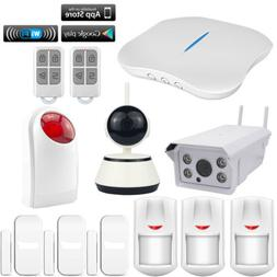 H62 KERUI APP WIFI PSTN W1 Wireless Home Security Alarm Burg