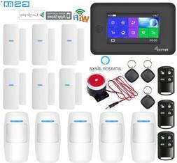 M48 APP WiFi+GSM+SMS+RFID Cloud Wireless Home Security Alarm