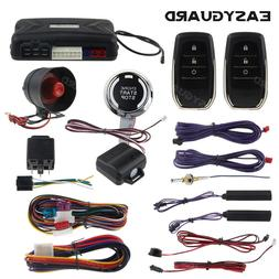 EASYGUARD pke car alarm system keyless entry auto start keyl