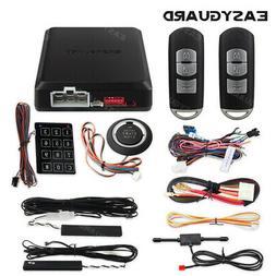 EASYGUARD PKE car alarm system push to start remote start pa