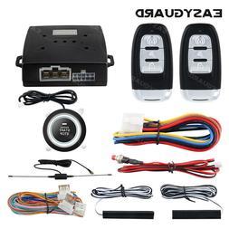 EASYGUARD PKE car security system remote start push start bu