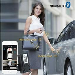 PKE Smart Key Car Alarm System With Remote central locking S