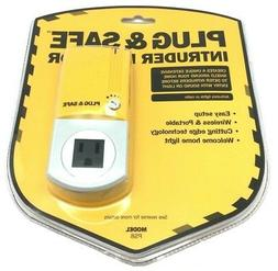 New Plug & Safe Alarm Motion Sensor Detector Wireless Home T