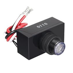 Outdoor Post Eye Light Control with Photocell Dusk to Dawn L