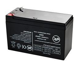 Power-Sonic PSH-1280, PSH1280 12V 8Ah UPS Battery - This is