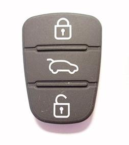 Replacement 3 Button Rubber Pad for Hyundai I10 I20 I30 Hyun