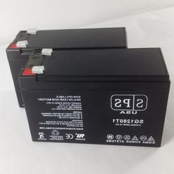 Replacement Battery for 12V 8AH SLA Battery  - FOR ALARMS AN