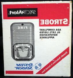 System Sensor S24110W White Wall Strobe