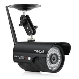 incoSKY Security Camera Wireless Camera System 720P WiFi Bul