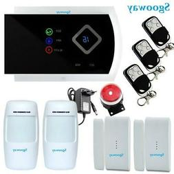 Sgooway Smarts GSM Alarm Systems Android IOS APP Alarms Home