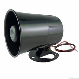 Six 6 Tone Loud Alarm Siren Car Truck ATV Security System Ho