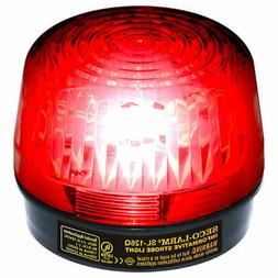 SL-126-A24Q/R Seco-Larm Red Strobe Light 6-24VDC