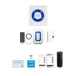 LWD Smart Home Wifi APP-Enabled Security Alarm System, Wirel