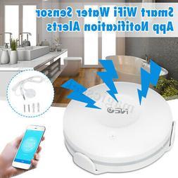 NEO Smart Home WiFi Water Sensor Flood Leak Detector Alarm S