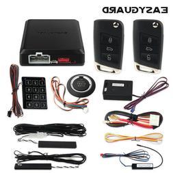 Easyguard smart key PKE car alarm system auto start proximit