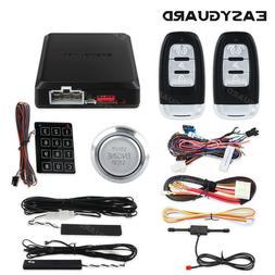 EASYGUARD smart key PKE car alarm system remote start keyles