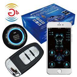 cardot 4g smart phone gps Pke Remote Start engine start stop