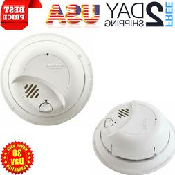 Smoke Detector Fire Alarm Hardwired System Constant Monitori