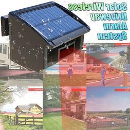 🔥Solar Driveway Alarm System 1/4 Mile Long Range Outdoor