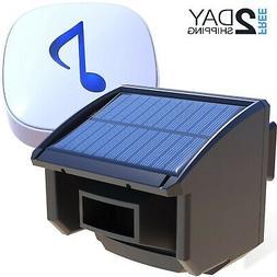 Htzsafe Solar Driveway Alarm System-1/4 Mile Long Transmissi