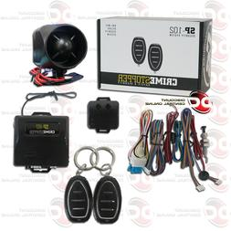 Crimestopper SP-101 One-Way Deluxe Security System with Keyl