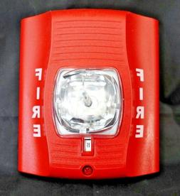 System Sensor SpectrAlert SR Safety Light - Red - Plastic -