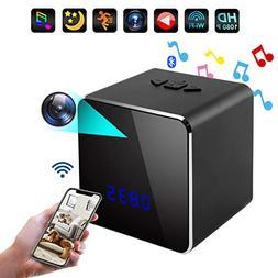 Spy Hidden Cam Speaker-Music Bluetooth System-Nanny Cam in C