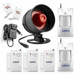 standalone home office and shop security alarm