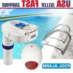 Swimming Inground Pool Safety Alarm System Children Pets Dro