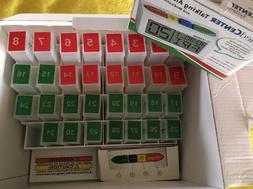THE MEDCENTER SYSTEM  31 Days Pills Organizer Talking Alarm