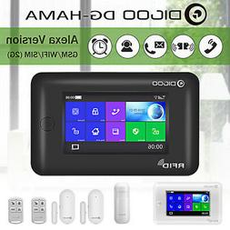 Digoo HAMA Touch Screen 2G GSM&WiFi  Smart Home Security Ala
