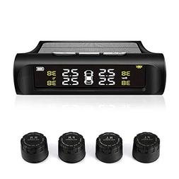 TPMS Tire Pressure Monitoring System Solar Power Universal W