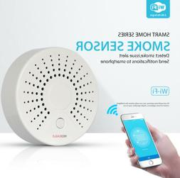 TUYA WiFi Wireless Smart Smoke Detector Security Alarm Syste