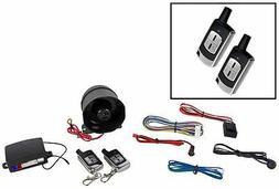 Ultrastart U450XR-Pro Car Alarm System w/2 Solid Metal Remot